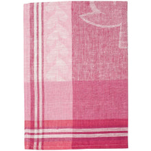 Load image into Gallery viewer, Pale Violet Red Strawberry Fields Tea Towel