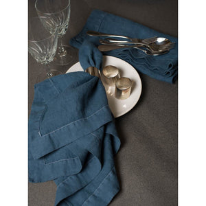 Dark Slate Gray Tessa Napkins (Set of 4)
