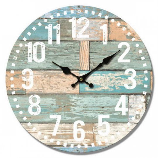 Gray Clock - Beachboard