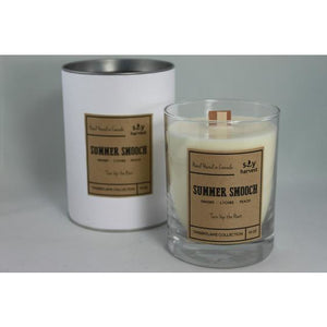Dark Olive Green Timberflame Soy Candle - Summer Smooch