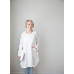 Gray Emma Long Sleeved Tunic