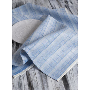 Light Steel Blue Klaus Tea Towel