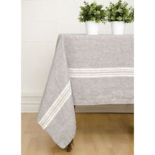 Load image into Gallery viewer, Gray Maison Tablecloth