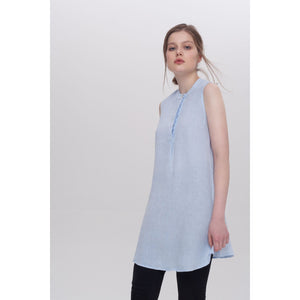 Light Gray Mia Short Sleeved Tunic