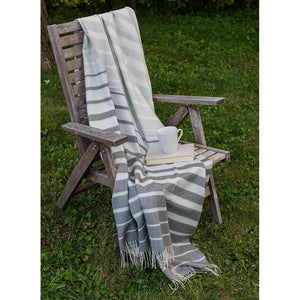 Gray Sofia Throw