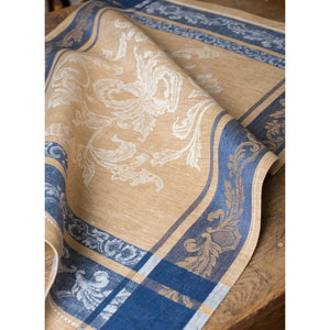 Tan Versailles Tea Towel