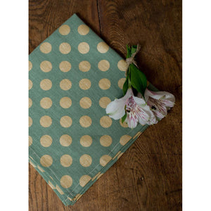 Dim Gray Dots Napkins (Set of 4)