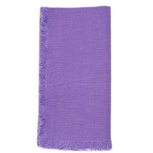Medium Purple Bilbao Napkins (Set of 4)