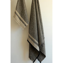 Load image into Gallery viewer, Dim Gray Lipari Bath Towel