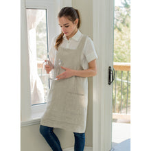 Load image into Gallery viewer, Gray Cuisine Apron