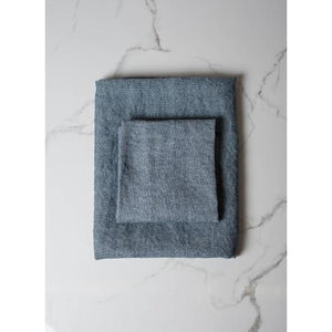 Slate Gray Chateau Washcloth