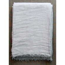 Load image into Gallery viewer, Gray Hampton Bath Towel