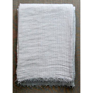 Gray Hampton Bath Towel