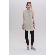 Load image into Gallery viewer, Light Gray Mia Short Sleeved Tunic