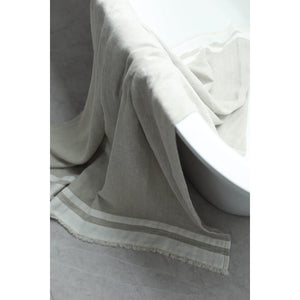 White Smoke Lipari Bath Towel