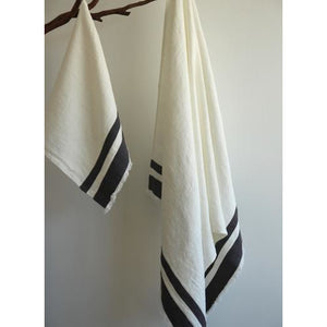 Rosy Brown Lipari Bath Towel