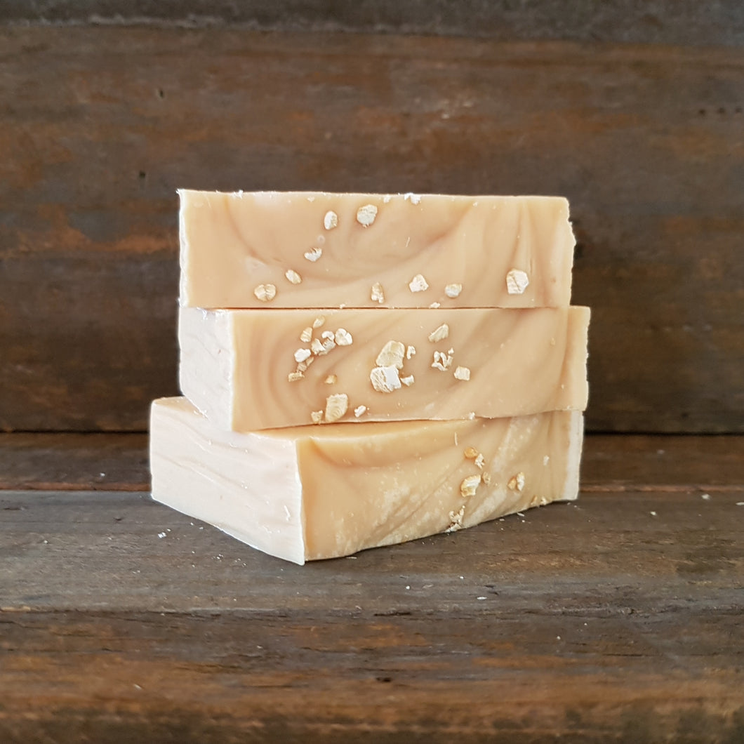 Tan Hand Crafted - All Natural Soap - May Chang and Oats