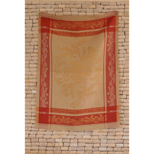 Rosy Brown Versailles Tea Towel