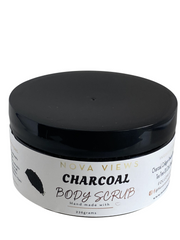 Charcoal Body Sugar Scrub
