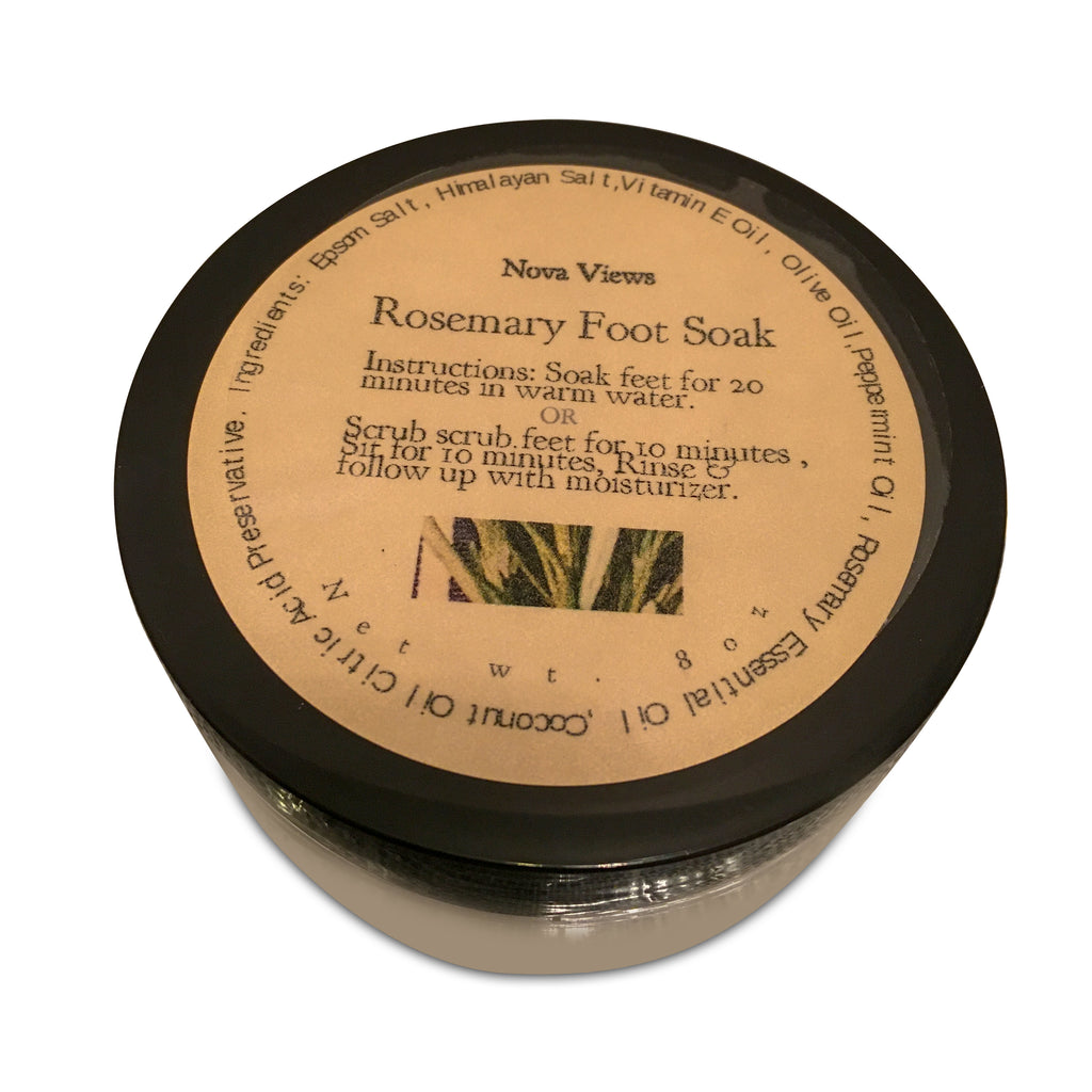 Rosemary Foot Scrub-Nova Views