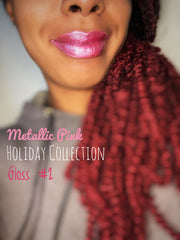 Metallic Pink Lipgloss (Holiday Collection)