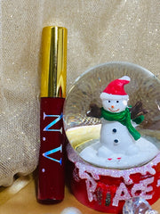 Red Glitter Color Lipgloss