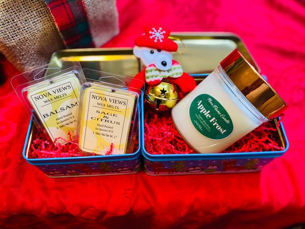 Holiday Candle Gift Set (Apple Frost)
