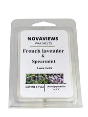 French Lavender & Spearmint (6 Wax Melts)