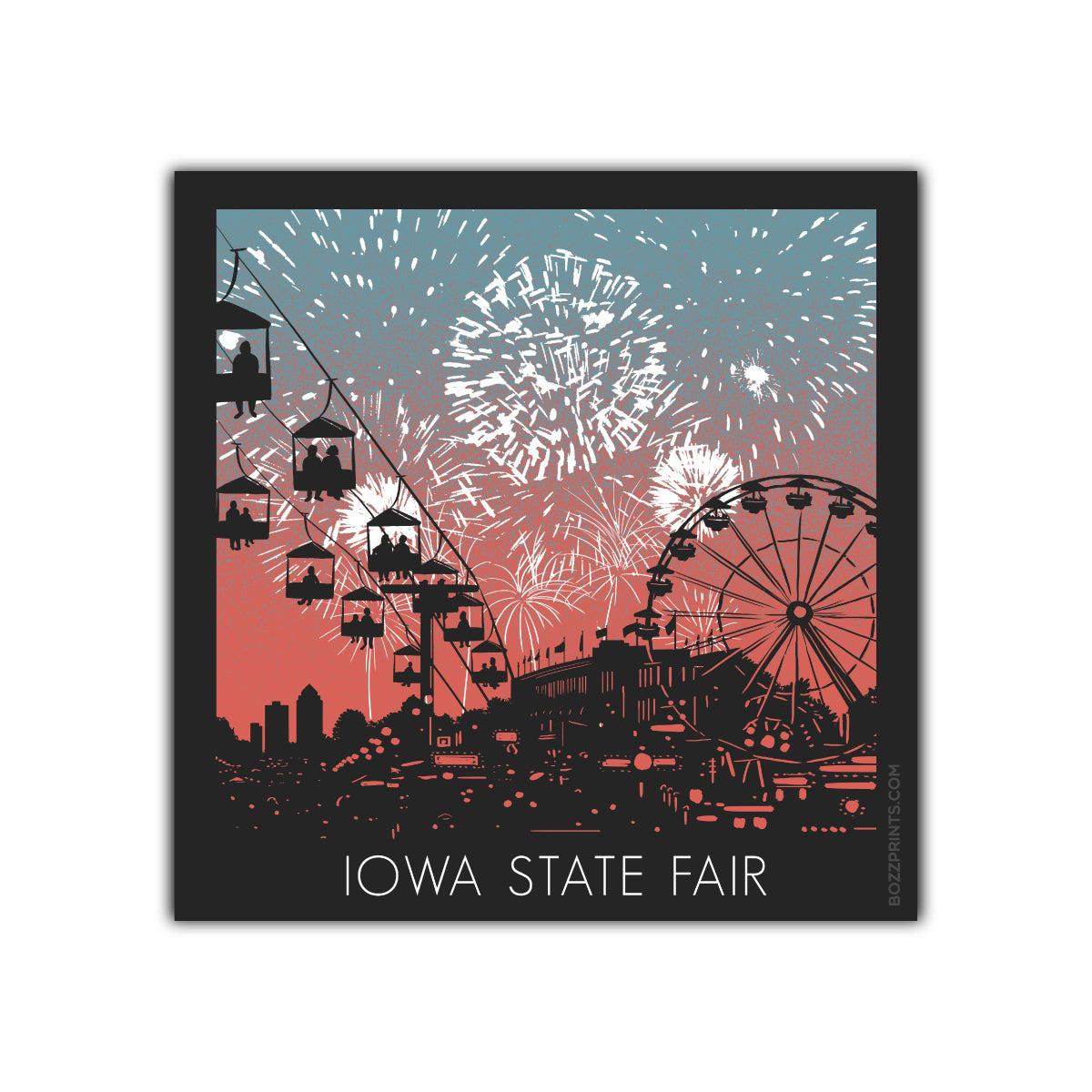 Iowa State Fair Fireworks
