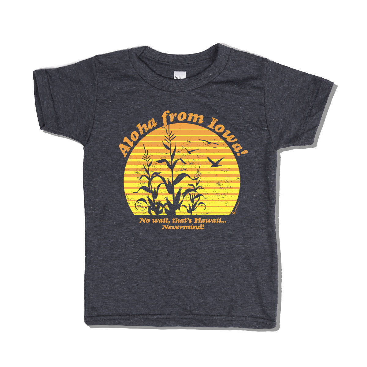 Aloha from Iowa Kids T-Shirt