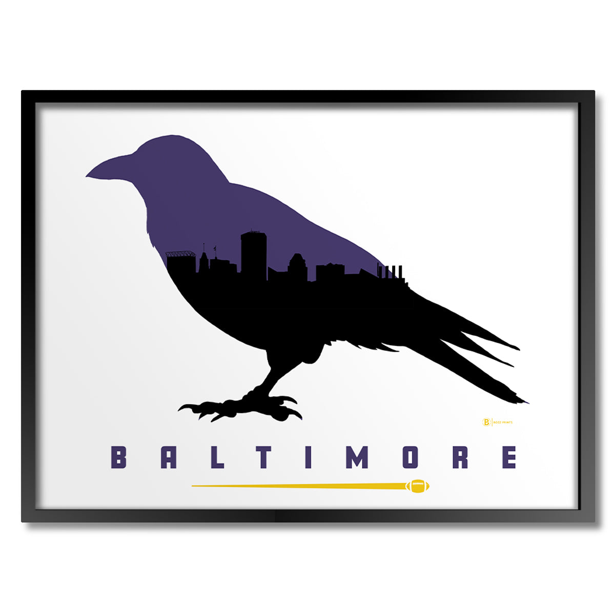 Baltimore Football Print