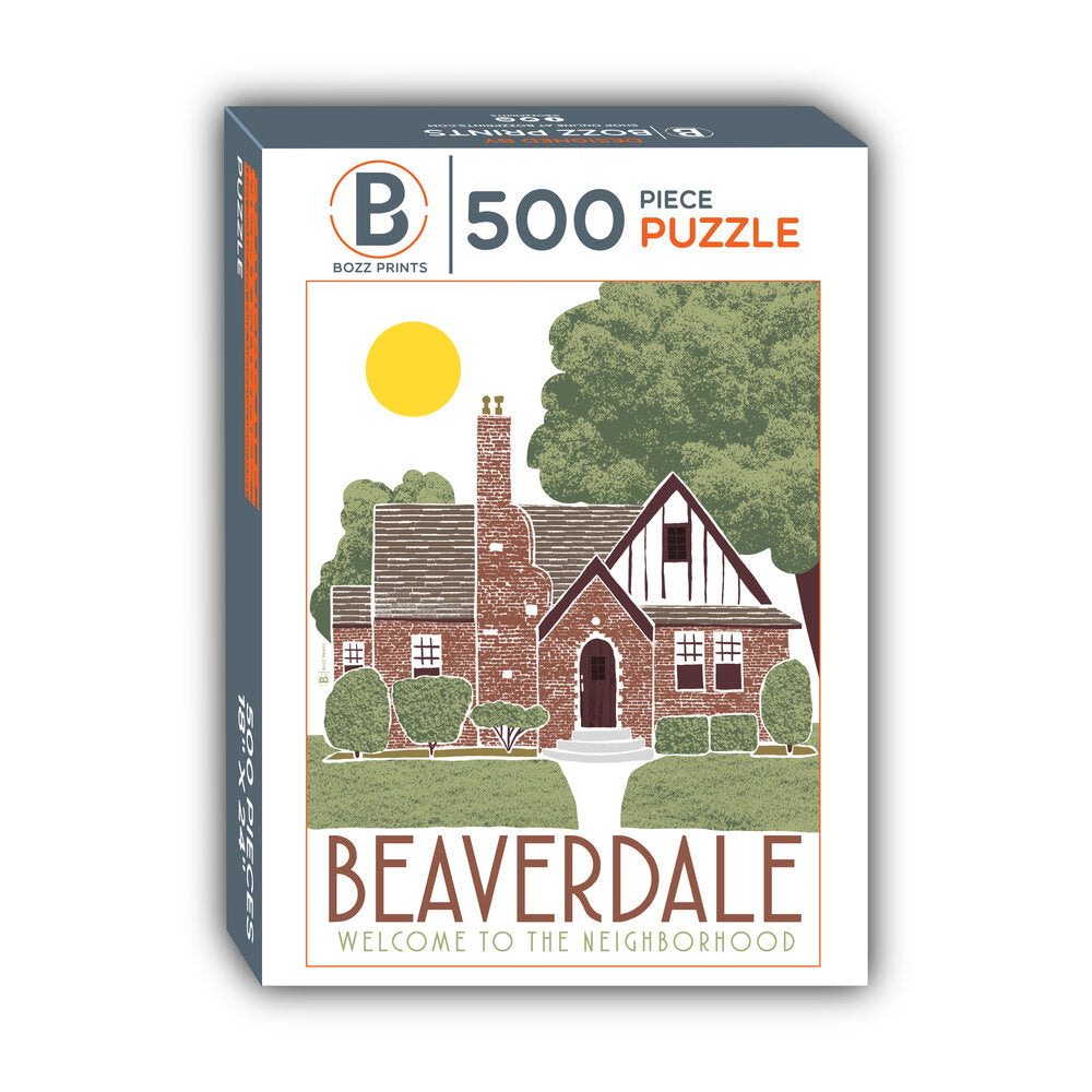 Welcome to Beaverdale Jigsaw Puzzle
