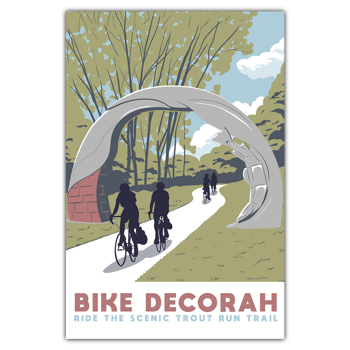 Bike Decorah Postcard