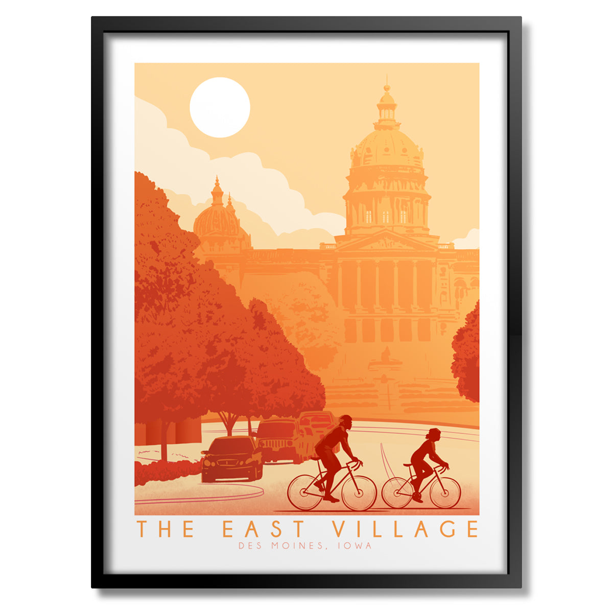 Bike East Village Print