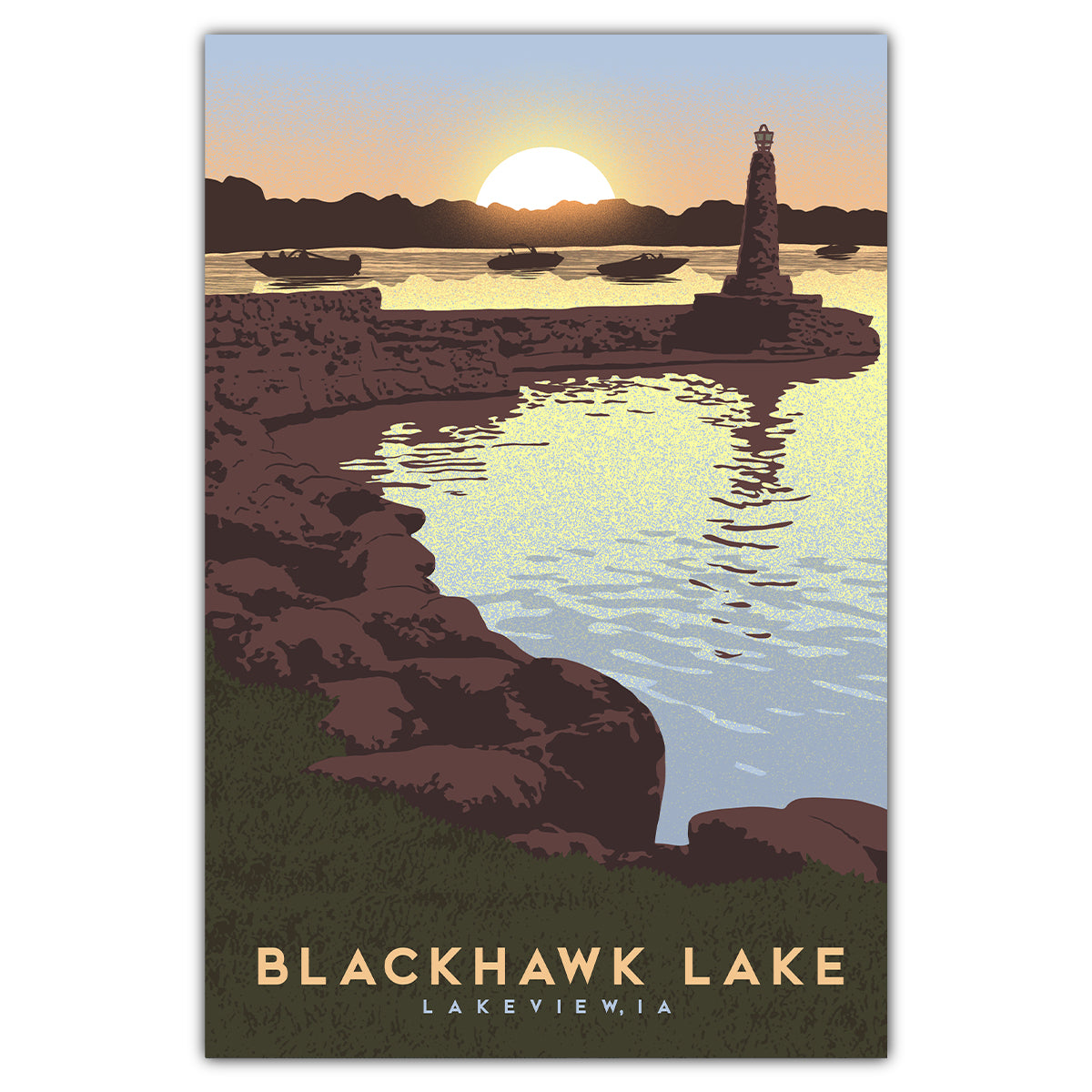 Blackhawk Lake Postcard