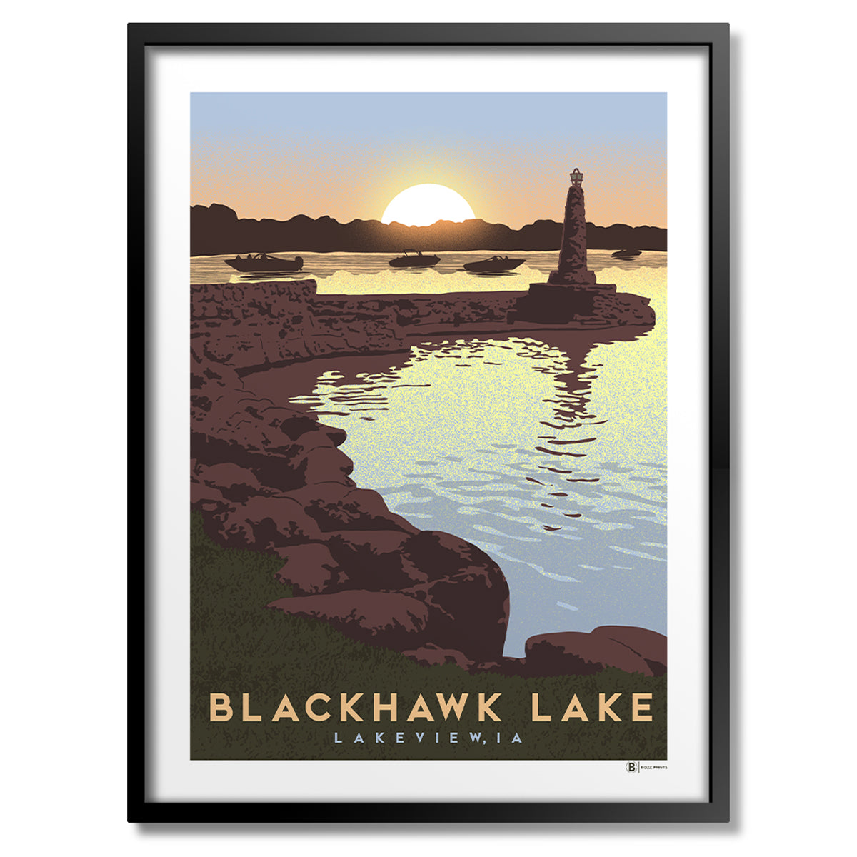 Blackhawk Lake Print