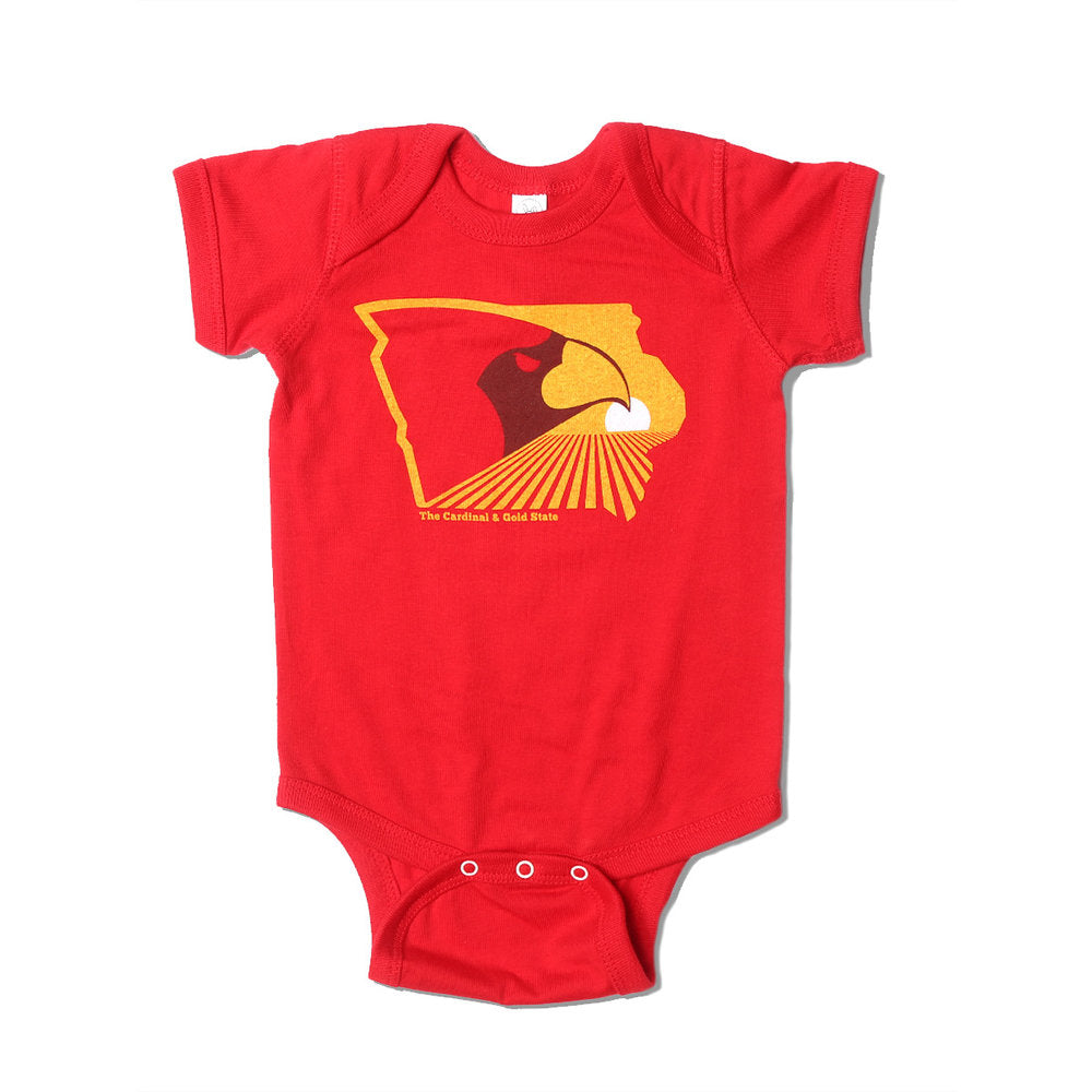 The Cardinal & Gold State Onesie