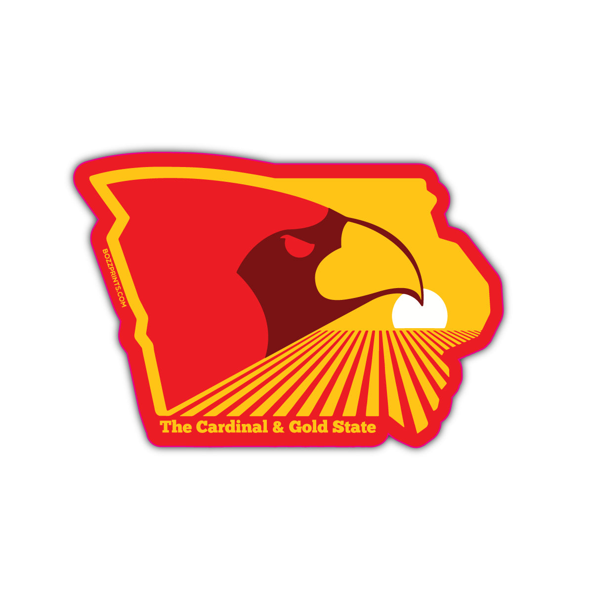 The Cardinal & Gold State