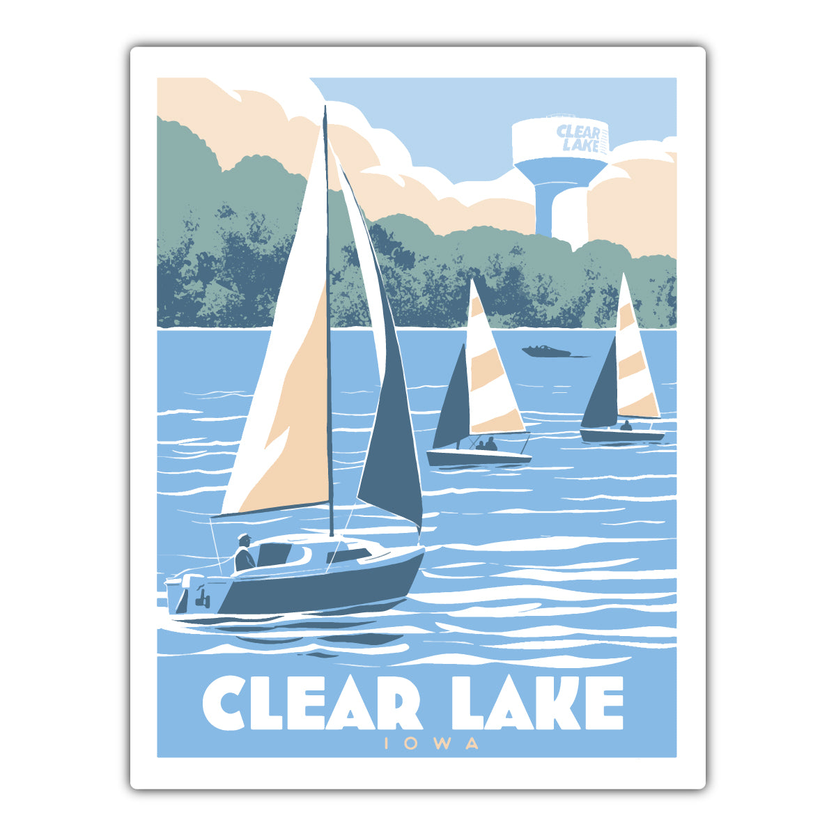 Clear Lake Sailing