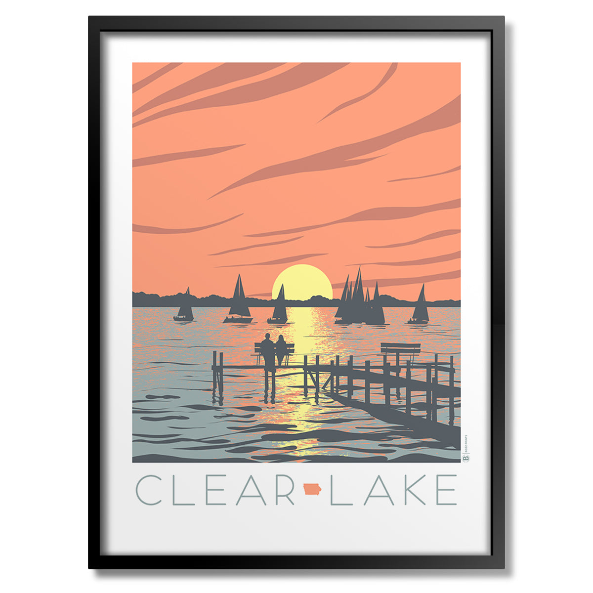 Clear Lake Sunset