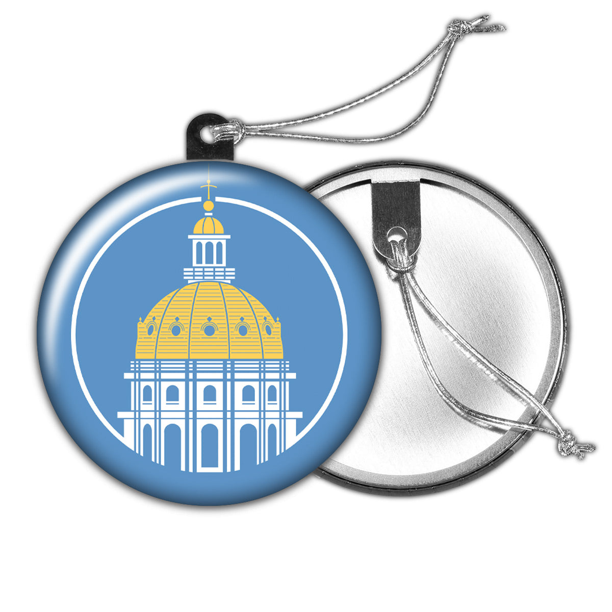 Des Moines Capitol Icon Holiday Ornament