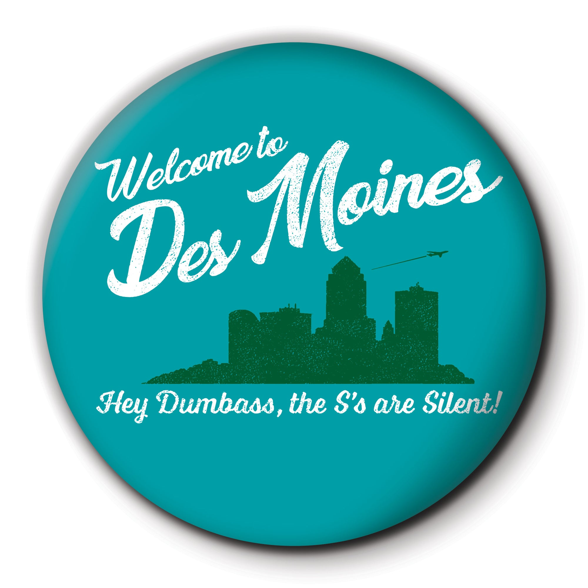 Des Moines S's are Silent Round Coaster