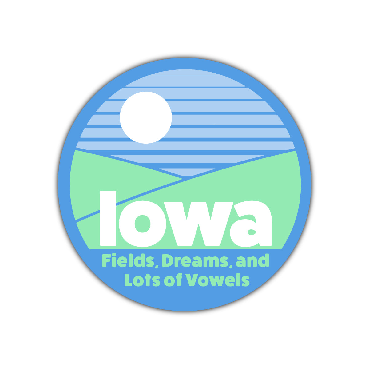 Iowa Fields, Dreams, and Lots of Vowels