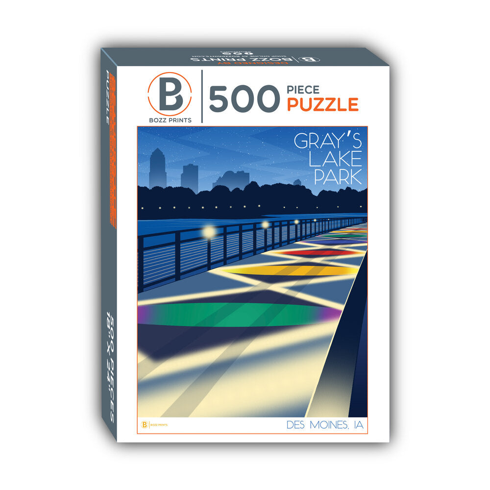 Gray's Lake Park Jigsaw Puzzle