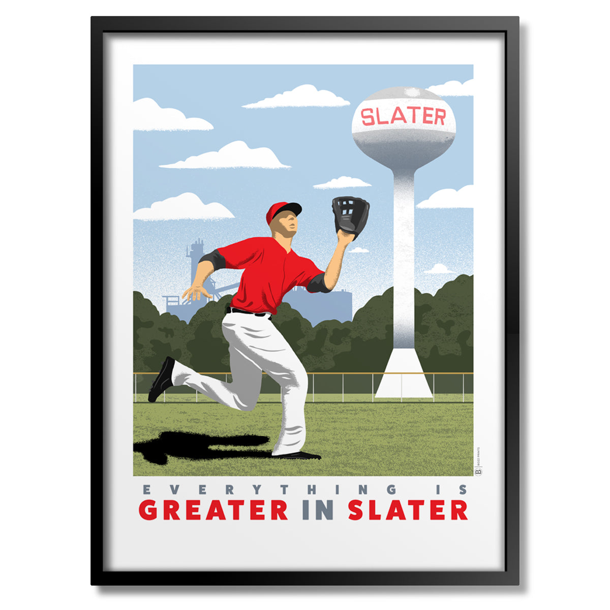 Everything is Greater in Slater Print