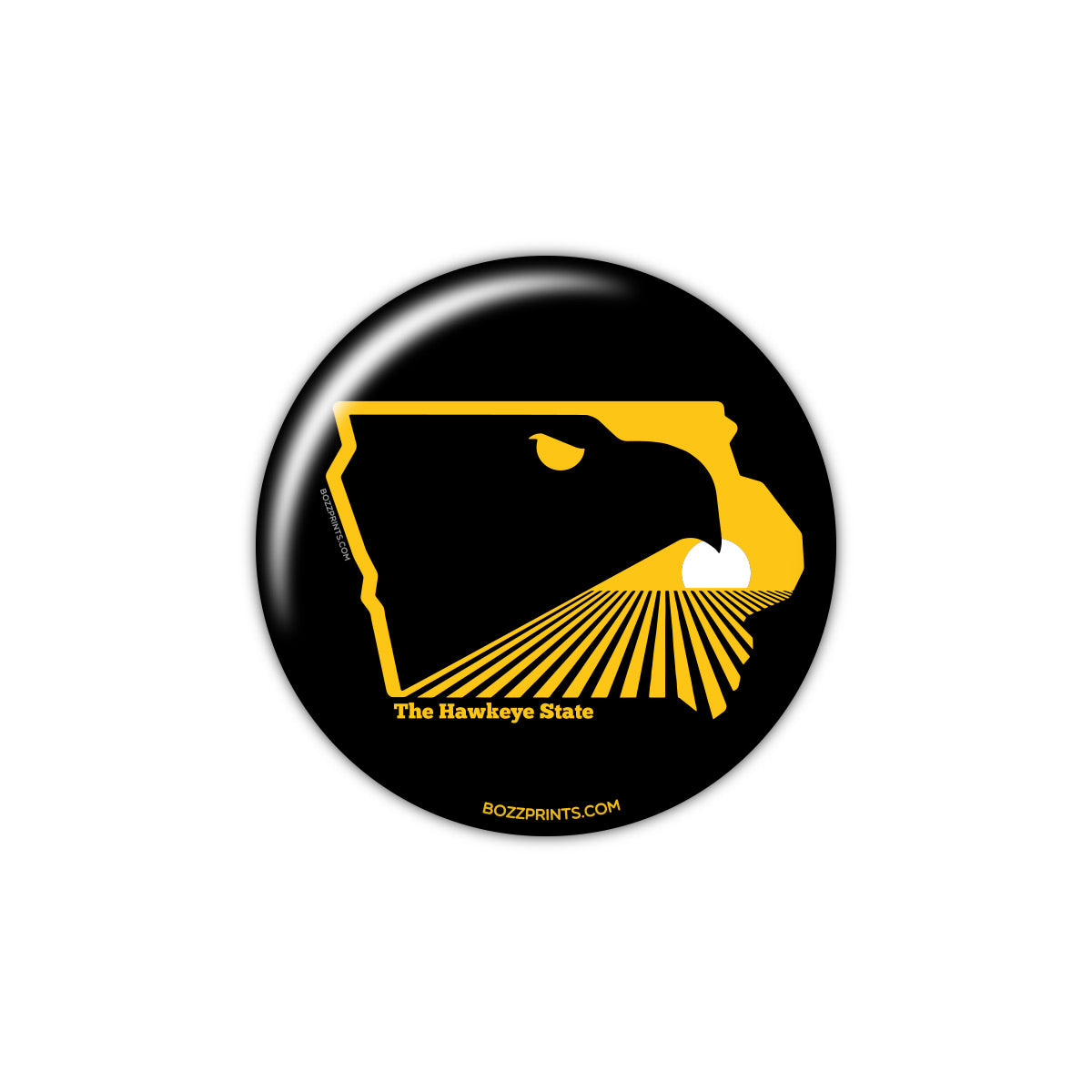 The Hawkeye State Button
