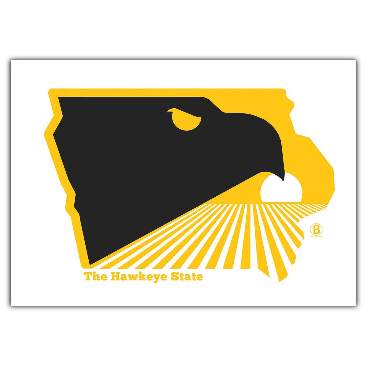 The Hawkeye State Greeting Card