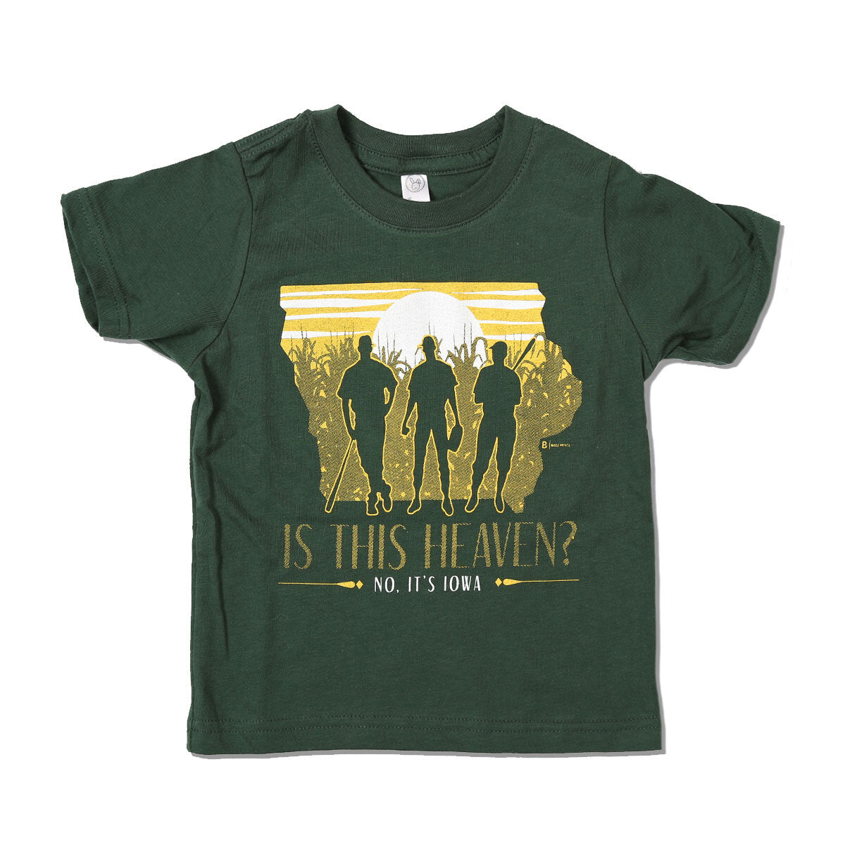 Is this Heaven? No It's Iowa Kids T-Shirt