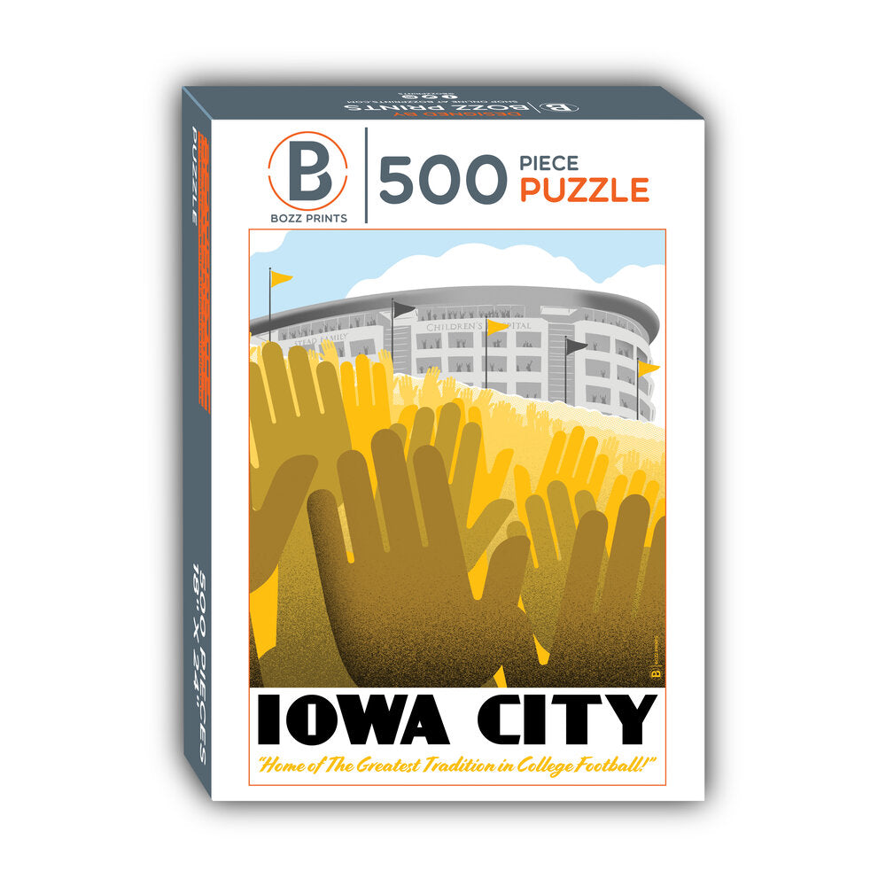 Iowa City Wave Jigsaw Puzzle