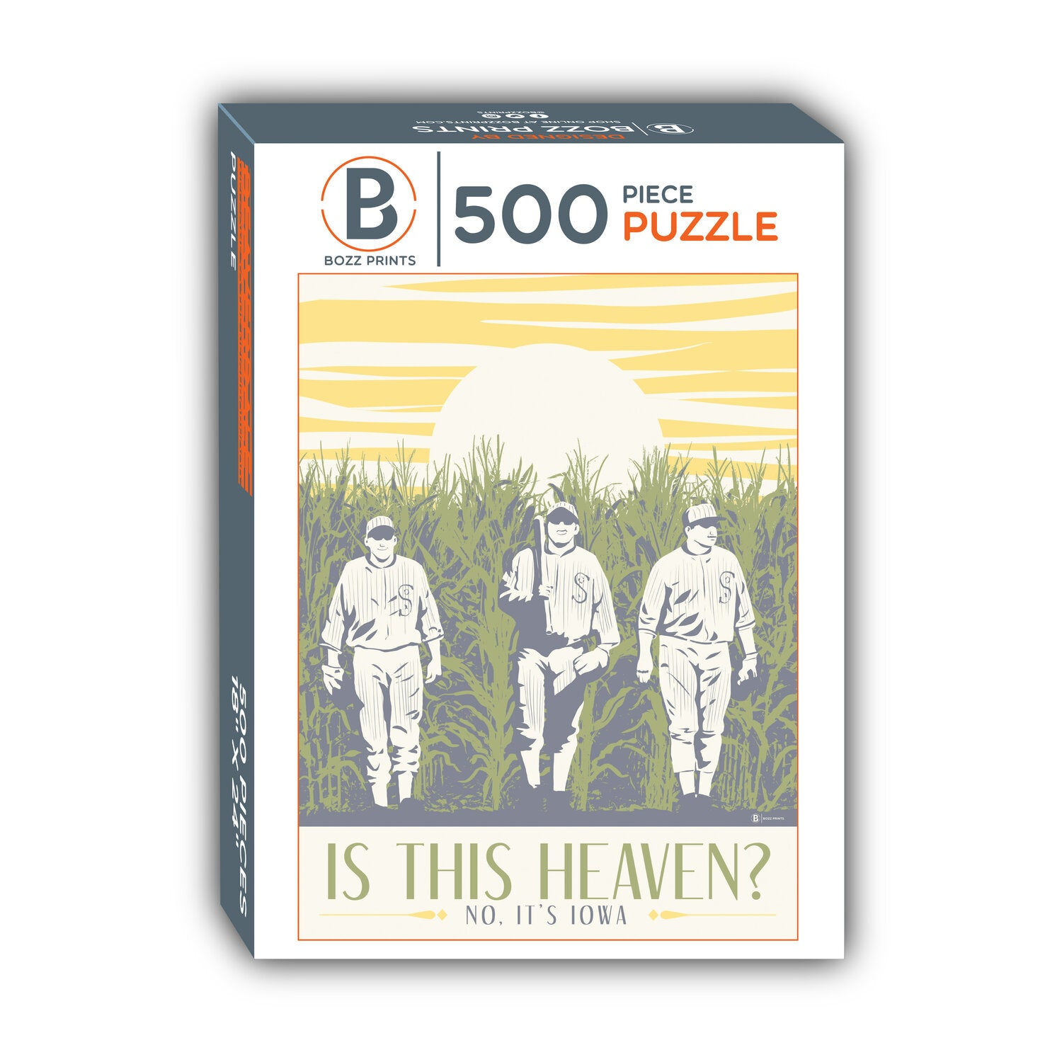 Is this Heaven? No It's Iowa Jigsaw Puzzle